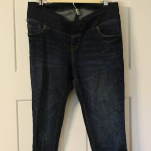 Old Navy long maternity jeans
